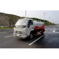 China Powerful FOTON 4x2 Water Sprinkler Truck , 530 Gallon Diesel Water Container Truck on sale