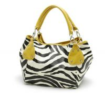 Discount Zebra shape material PU Ladies Handbags G5284 Manufactures