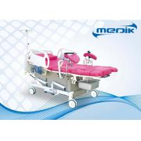 ABS Head Board Electric Gynecological Chair For Maternity , Motorized Labor Delivery Bed Manufactures