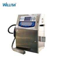 Automatic Online Egg Coding Machine Expiry Date Printer Eggs Batch Code Inkjet Printer For Production Line Manufactures