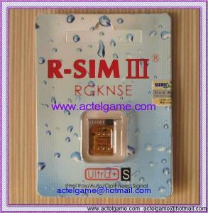 iPhone4S R-SIM III Ultras unlock card iPhone repair parts Manufactures
