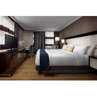Hotel Standard Double Room Interior design of Furniture in Fabric upholstered