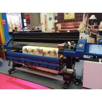 High Resolution 3.2m Eco Solvent Printer With Epson Dx7 Print Head Manufactures