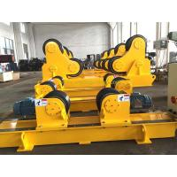 China Bolt Adjustment Fit Up Welding Rotator Conventional Pipe Rotators For Welding on sale