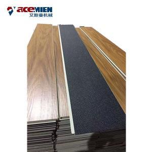 China 300 Kw PVC  Flooring Machine , Step Floor PVC Laminate Flooring Production Line on sale