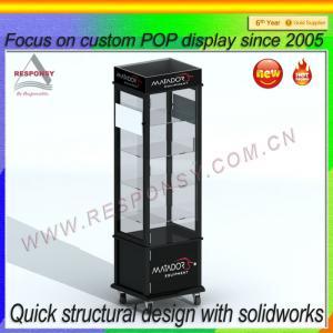 China POP acrylic acrylic body jewelry display/ acrylic jewelry display case on sale
