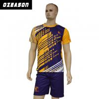 Quality Custom Sublimated Anti-Shrink 100%Polyester Football Jersey for Adults & Kids for sale