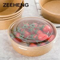 Quality 8oz 12oz 16oz Factory directly sale food kraft paper bowl for take away for sale