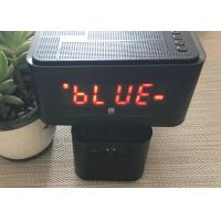 LED Display Wireless Bluetooth Speaker With Clock / USB Port Perfect Sound Manufactures