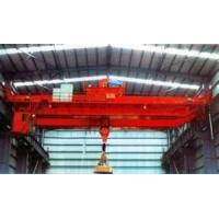 Wireless Radio Remote 300tons heavy duty double girder casting metallurgy overhead crane Manufactures