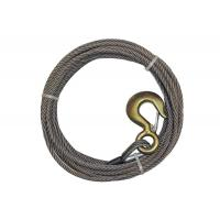 B / A Rope Winch Line Alloy Hook High Crush Resistance With Safety Catch Manufactures