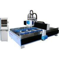 Marble Jade Crystal Stone CNC Engraving Machine , Stone Carving CNC Router Manufactures