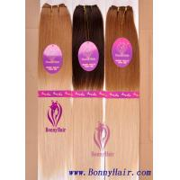 China 100% Remy Hair Machine Made Hair Weft on sale
