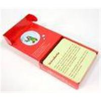 Beautiful playing card Childrens Coloring Book Printing with mbossed and hot stamping Manufactures