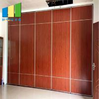 China Collapsible Foldable Soundproof Flexible Moving Sliding Door Partition Walls For Wedding Hall on sale