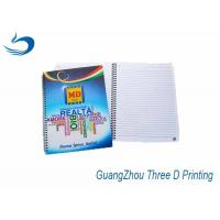 China Big Size A4 3D Lenticular Notebook Custom Printing 80g Inner Pages on sale