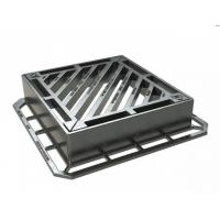 Non-rock Design D400 Gully Gratings Double Triangular (100mm) From Chia Supplier
