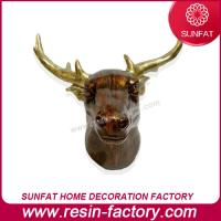 Polyresin famous animal figurine deer head for sale of homedcrafts - Cheetah statues ...