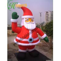 Giant inflatable santa claus for inflatable holiday yard for Christmas yard decorations for sale
