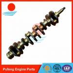 crankshaft for Hino, forged steel crankshaft H07C crankshaft 13411-1583 for automobile and excavator Manufactures