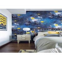 Household Good Breathable Kids Designer Wallpaper For Boys Bedroom Manufactures