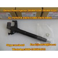 China Denso Piezo Injector 295900-0300 295900-0220 for TOYOTA 23670-51060 23670-59045 on sale