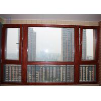 Residential Aluminium Tilt And Turn Windows Mechanism With Toughened Glass Manufactures