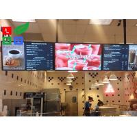 42 Inch LCD Advertising Display Monitor WiFi Control For Shop Menu Image Display Manufactures