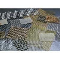 China 1-120 Mesh Stainless Steel Crimped Wire Mesh / Cloth / Net For Smoking Pipe on sale