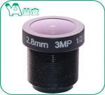 1/2.5'' Sensor 3MP 2.8 Mm Cctv LensM12 F2.0 2.8mm For Assembled Bullet Dome Manufactures