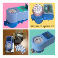 China Multi Jet RF Smart Water Meter , Radio Frequency Card Prepaid Water Meters on sale