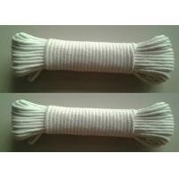 Multi- purpose braided cotton diamond solid rope code Manufactures