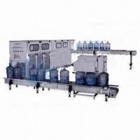 Water Filling Machine for Beverage Machinery, with 4.1kW Input Power Manufactures