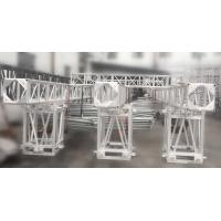 Aluminum Screw Square Stage Lighting Truss 3 Tons High Load SB450mm * 450mm 12M Span Manufactures
