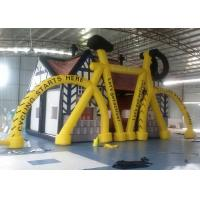 China Bike Theme Inflatable Outdoor Playground , Commercial Inflatable Air Tent on sale
