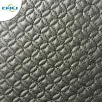 Waterproof Faux Leather Upholstery Fabric Easy Cleaning Quick Drying Manufactures