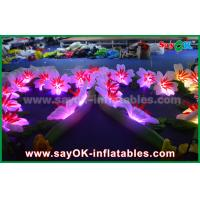 China Party Inflatable Lighting Decoration Led Flower Chain Oxford Cloth on sale