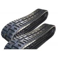 Black Bobcat Replacement Tracks 400 X 86 X 49 With Joint Free Technology Manufactures