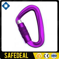 High Quality Twist Locking Metal Aluminum Snap Carabiner Manufactures