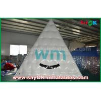 China Waterproof PVC Blow Up Pyramid Logo Printing Promotional Inflatable Products For Event on sale