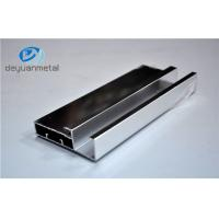 Silver Polishing Standard Aluminum Extrusion Profiles For House Decoration Manufactures
