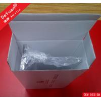 Clear Table Acrylic Display Stands , Home Table Calendar Pen Holder Manufactures