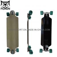 36Customized Canadian Maple Skateboard, 7ply Canadian Maple with Fire Protection Longboard Manufactures