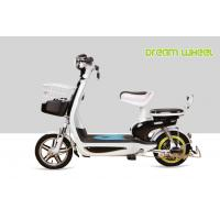 Small Lovely Power AssistedElectric Bike 48V 350W Scooter Style Long Travel Distance Manufactures