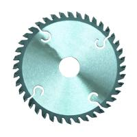 Circular Wood Cutting TCT Saw Blade Tungsten Carbide Steel Material With Carbide Tips