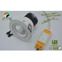 4000K White COB 9 Watt LED Downlights 600lm ROHS For Hotel LED Replacement Lamps Manufactures
