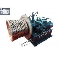 Industrial Scale Dewatering Centrifuge / Automatic Pusher Centrifuge For Salt Manufactures