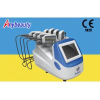 Portable Body Lipo Laser Slimming Machine With 8 Handpieces For Fat Removal Manufactures