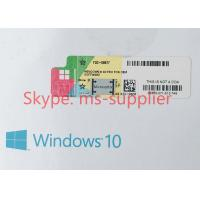 Microsoft OEM Key Windows 10 Proffesional Operating System Software For Multi Languages Manufactures