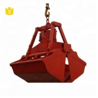 Clamshell Bulk Cargo Electro Hydraulic Grab Bucket Manufactures